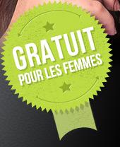 Gratuit pour les femmes